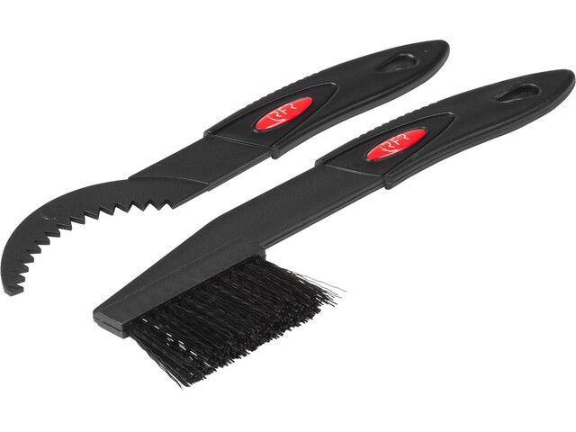 Cube RFR Sprocket brush & scraper set black